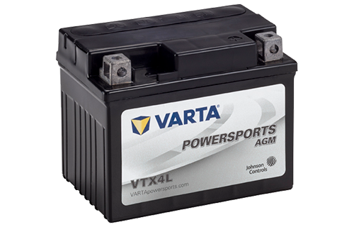 vtx4l varta agm powersports battery johnson controls. Black Bedroom Furniture Sets. Home Design Ideas